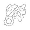 Altenew Wavy Roses Die Set