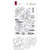 Altenew Wavy Roses Stamp & Die & Mask Stencil Bundle