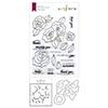 Altenew Wavy Roses Stamp & Die & Mask Stencil Bundle