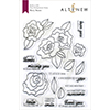 Altenew Wavy Roses Stamp Set
