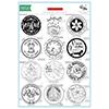 Stamping Village Holiday Seals Stamp Set