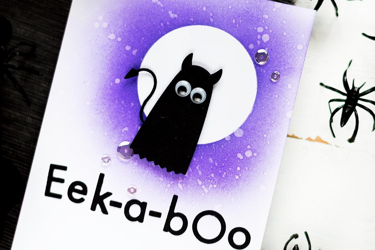 Halloween Demon Card. Card by Svitlana Shayevich