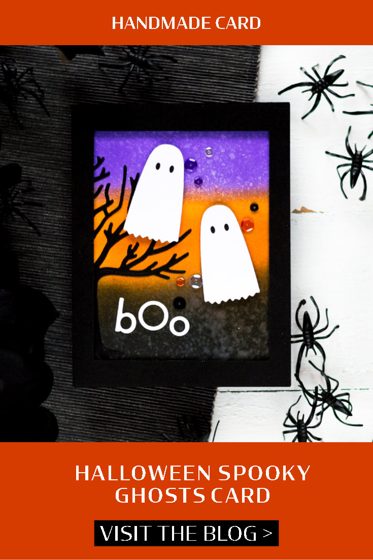 Halloween Spooky Ghosts Card. Card by Svitlana Shayevich