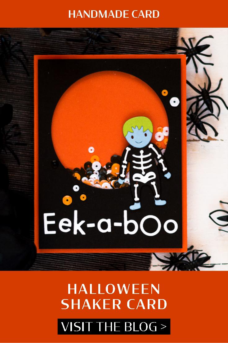 Halloween Shaker Card. Card by Svitlana Shayevich