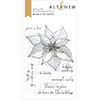 Altenew Modern Poinsettia Stamp Set
