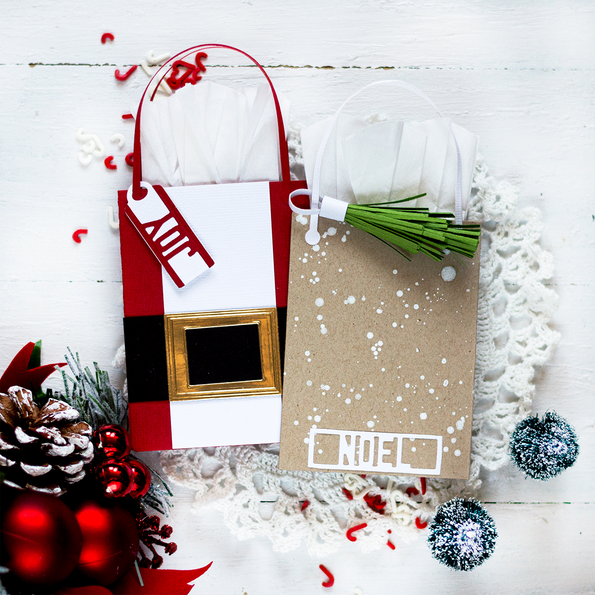 Christmas Gift Card Holders. Card by Svitlana Shayevich