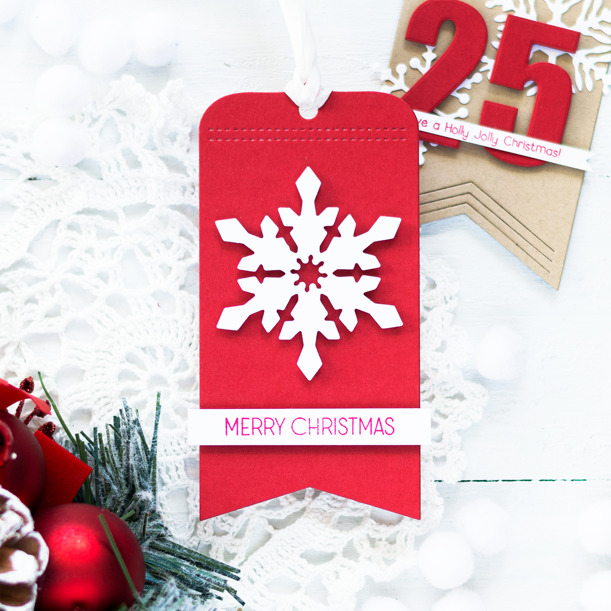 Christmas Tags. Card by Svitlana Shayevich