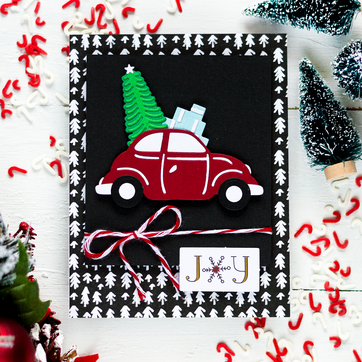 Spellbinders Merry Everything Christmas Card Kit. Card by Svitlana Shayevich