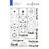Altenew Delicate Tiles Stamp Set