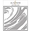 Altenew Liquid Marble Stencil