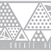 Altenew Trendy Triangles Decal Set - Medium