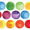 Altenew Watercolor Dots Decal Set - Medium