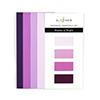 Altenew Gradient Cardstock Set - Shades Of Purple