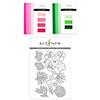 Altenew Pink & Green Garden Cardstock & Die Bundle