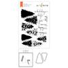 Altenew Plentiful Pine Stamp & Die & Mask Stencil Bundle