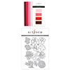 Altenew Red Cosmos Gradient Cardstock & Hibiscus Garden 3D Die Set Bundle