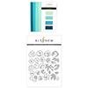 Altenew Sea Shore Gradient Cardstock & Rose Flurries 3D Die Set Bundle