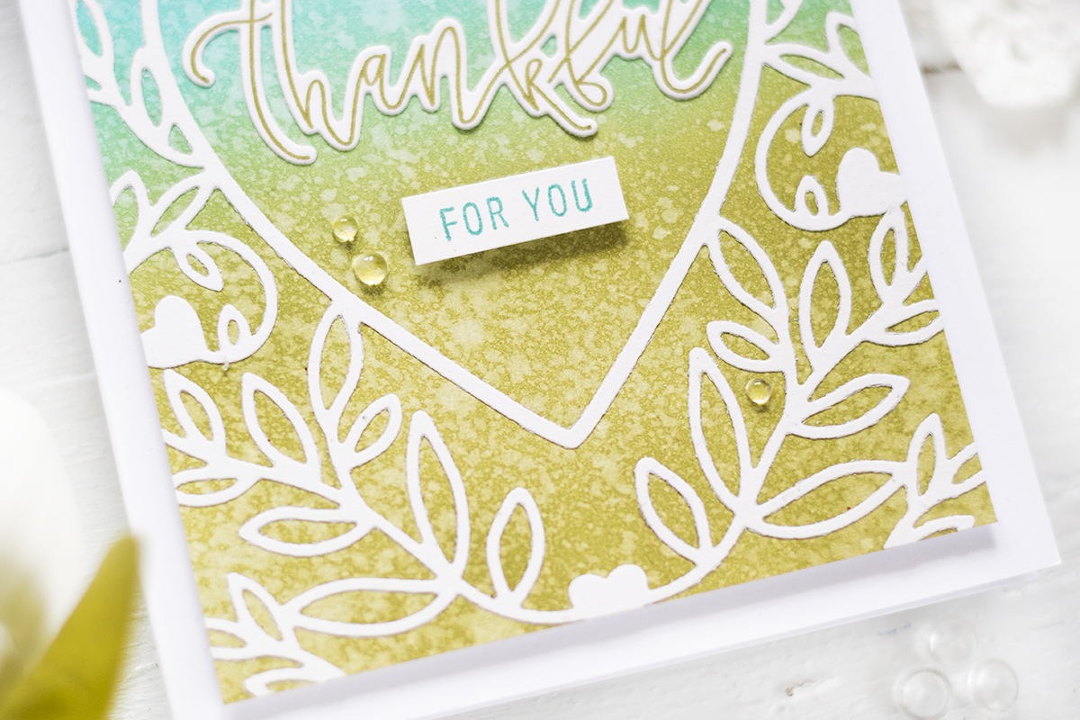 Thankful For You Card. Card by Svitlana Shayevich