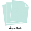 Papertrey Ink / Ink To Paper Perfect Match Aqua Mist Cardstock