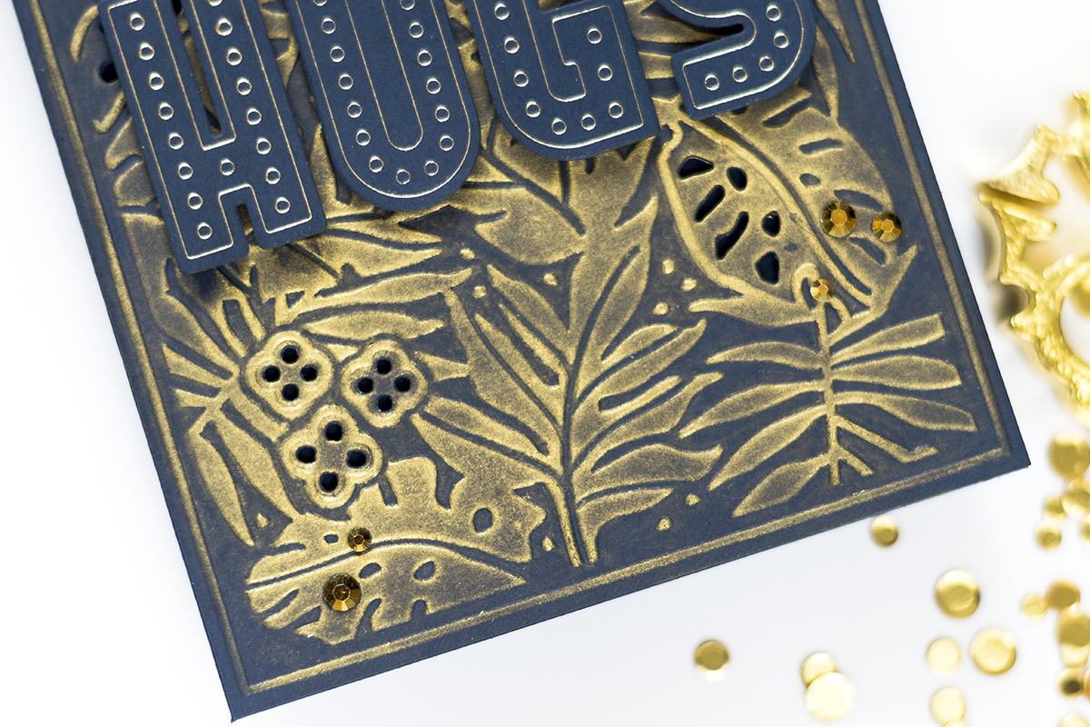 Creative Use Of Embossing Folders. Card by Svitlana Shayevich