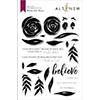 Altenew Watercolor Roses Stamp Set