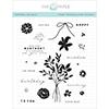 Papertrey Ink / Ink To Paper Birthday Bouquet Stamp Set