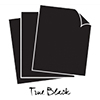 Papertrey Ink / Ink To Paper Perfect Match: True Black Cardstock