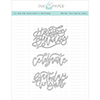 Papertrey Ink / Ink To Paper To Die For Sentiments: Birthday Die Set