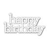 Simon Says Stamp Cz Design Happy Birthday Die Set