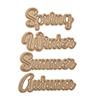Spellbinders Seasonal Words Die Set