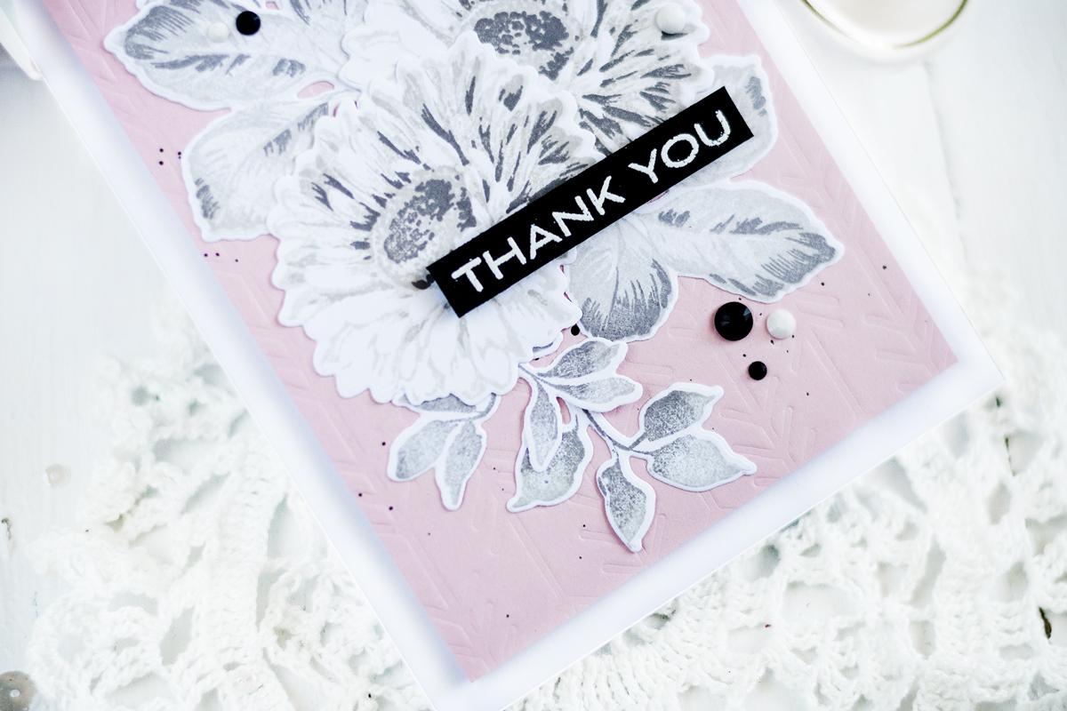 Sunflower Thank You Card. Card by Svitlana Shayevich