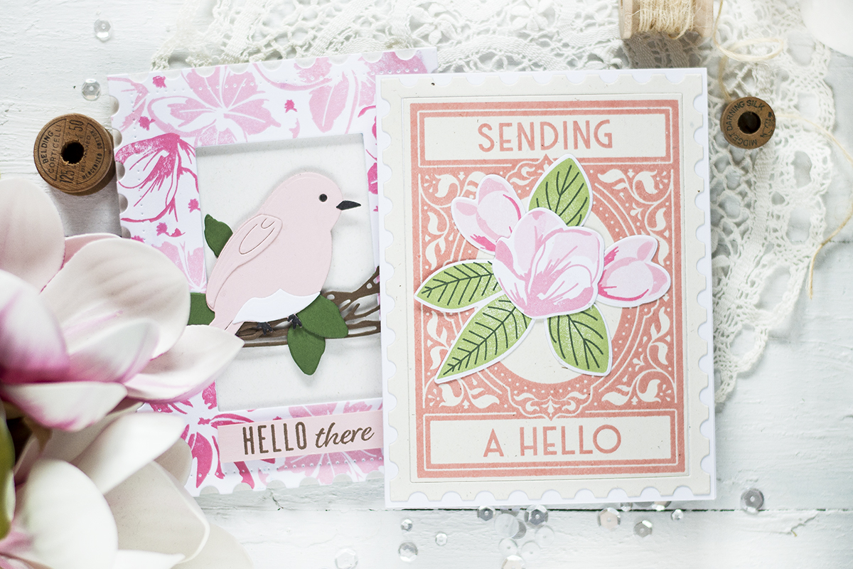Ink To Paper June Release Day 3. Card by Svitlana Shayevich
