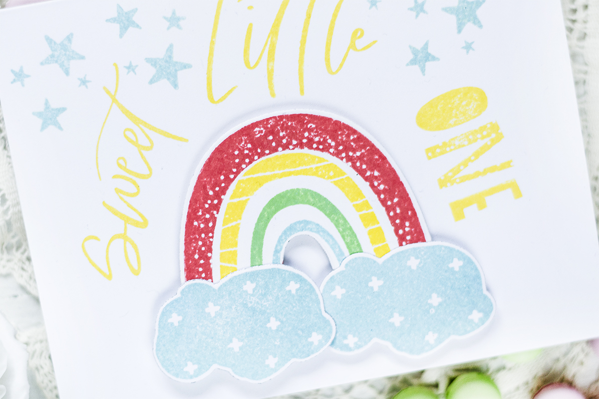Sweet Little One Baby Card. Card by Svitlana Shayevich