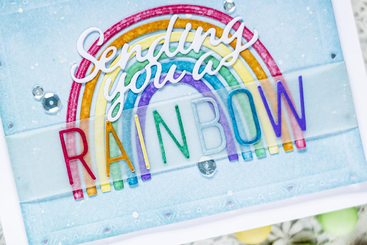 Colorful Rainbow Card. Card by Svitlana Shayevich