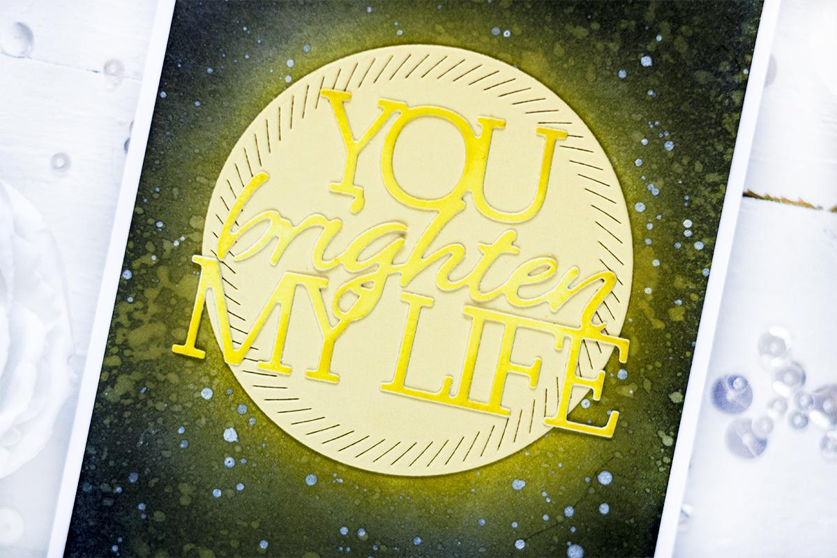 You Brighten My Days. Card by Svitlana Shayevich