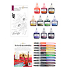 Altenew Autumn Festival Watercolor Brush Markers & Refill & Stamp Bundle