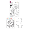 Altenew Courageous You Stamp & Die & Simple Coloring Stencil Bundle
