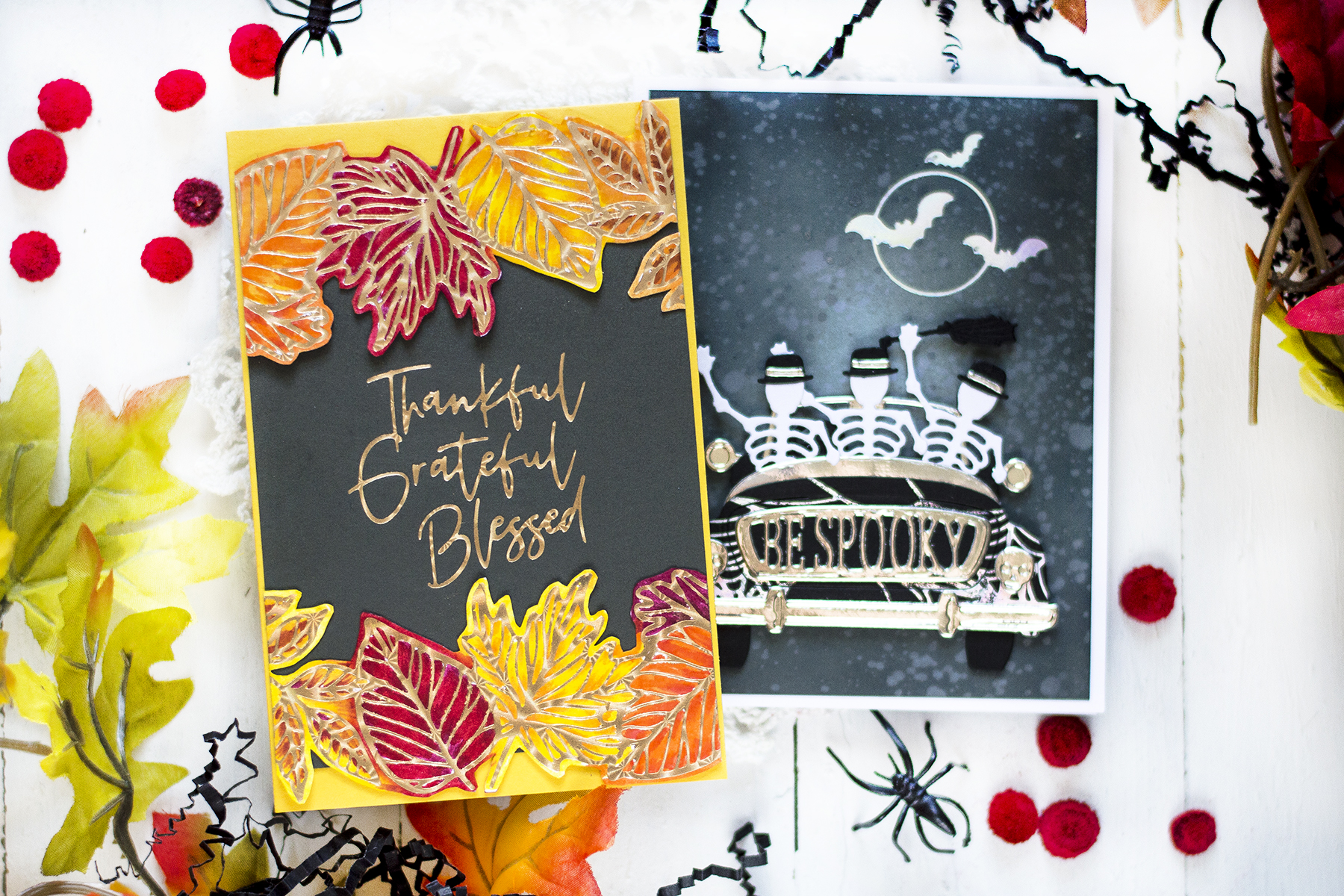 Fall Holiday Cards. Cards by Svitlana Shayevich