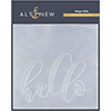 Altenew Mega Hello Debossing Folder