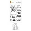 Altenew Merry Reindeer Stamp & Die Bundle