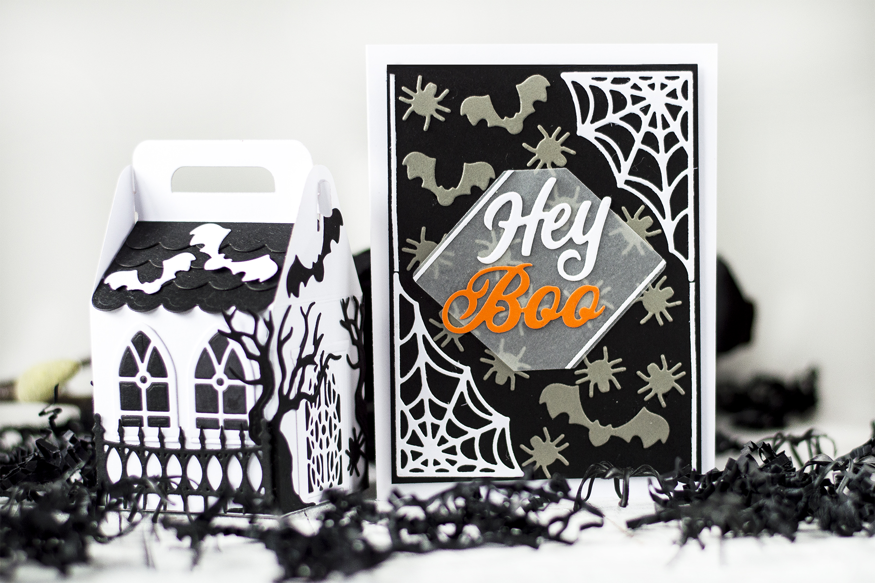 Two Halloween Projects. Card by Svitlana Shayevich