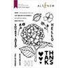 Altenew Hello Hydrangea Stamp Set