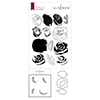 Altenew Cartoon Rose Stamp & Die & Mask Stencil Bundle