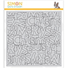 Simon Says Stamp Outline Merry Christmas Background Stamp