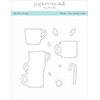 Papertrey Ink / Ink To Paper Festive Mugs Die Set