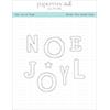 Papertrey Ink / Ink To Paper The Joy Of Noel Die Set