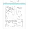 Papertrey Ink / Ink To Paper Winter Woodlands Die Set