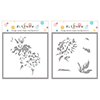 Altenew Vintage Garden Simple Coloring Stencil Set