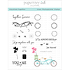 Papertrey Ink / Ink To Paper Anywhere Together Stamp Set