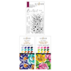 Altenew Colors Of My Garden Stamp & Artist Alcohol Markers Bundle